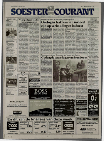 Soester Courant 2003-04-09
