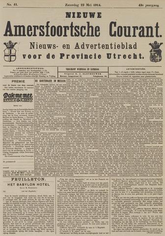 Nieuwe Amersfoortsche Courant 1914-05-23
