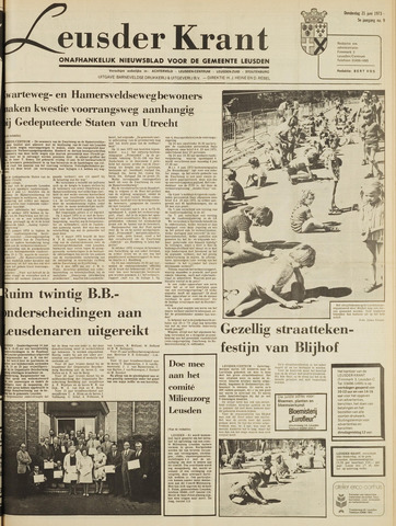 Leusder Krant 1973-06-21