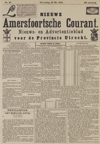 Nieuwe Amersfoortsche Courant 1914-05-13