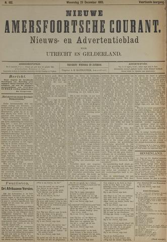Nieuwe Amersfoortsche Courant 1885-12-23