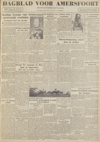 Dagblad voor Amersfoort 1947-04-02