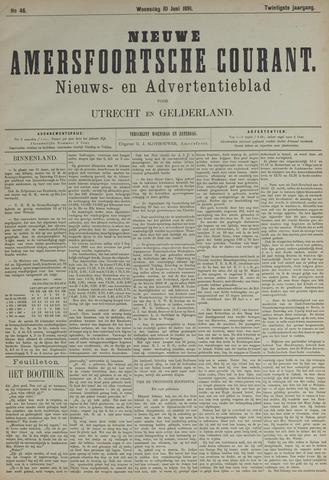 Nieuwe Amersfoortsche Courant 1891-06-10