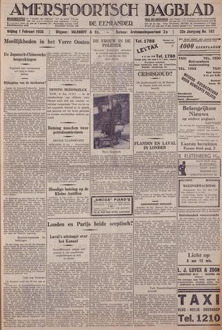Amersfoortsch Dagblad / De Eemlander 1935-02-01