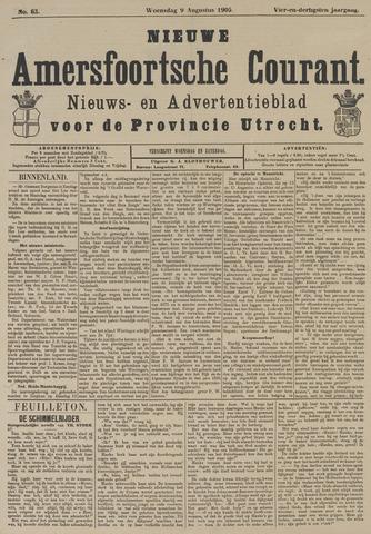 Nieuwe Amersfoortsche Courant 1905-08-09