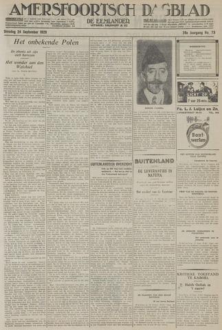 Amersfoortsch Dagblad / De Eemlander 1929-09-24