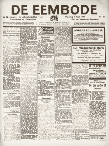 De Eembode 1927-06-07