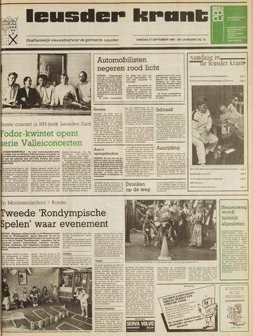 Leusder Krant 1988-09-27