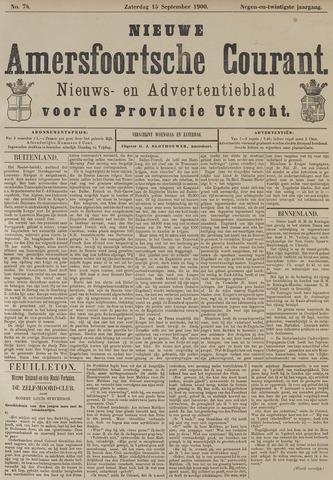 Nieuwe Amersfoortsche Courant 1900-09-15