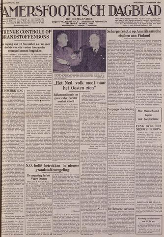 Amersfoortsch Dagblad / De Eemlander 1941-11-05