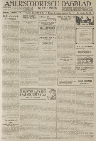 Amersfoortsch Dagblad / De Eemlander 1931-02-02