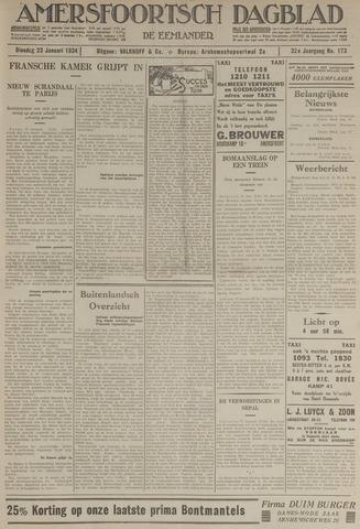Amersfoortsch Dagblad / De Eemlander 1934-01-23