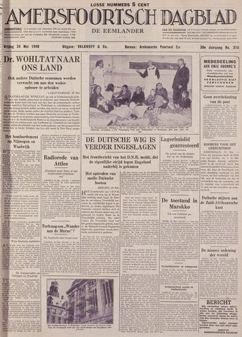 Amersfoortsch Dagblad / De Eemlander 1940-05-24
