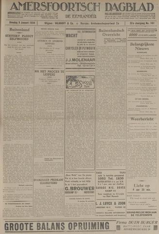 Amersfoortsch Dagblad / De Eemlander 1934-01-09