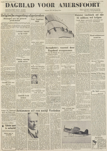 Dagblad voor Amersfoort 1948-11-19