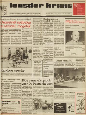 Leusder Krant 1986-01-23