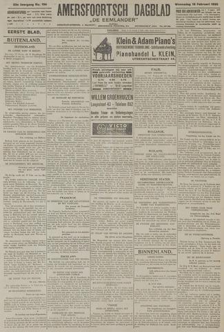 Amersfoortsch Dagblad / De Eemlander 1925-02-18