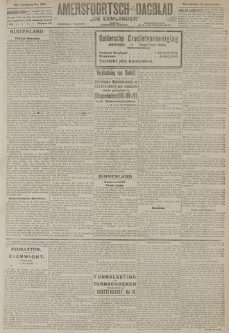 Amersfoortsch Dagblad / De Eemlander 1920-04-29
