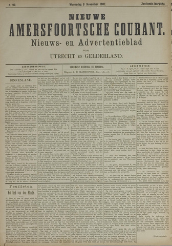 Nieuwe Amersfoortsche Courant 1887-11-09