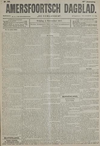 Amersfoortsch Dagblad / De Eemlander 1917-11-02