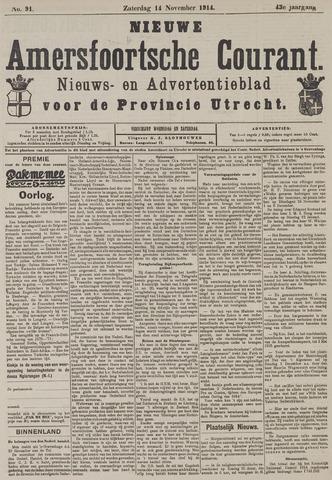 Nieuwe Amersfoortsche Courant 1914-11-14