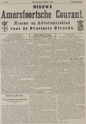 Nieuwe Amersfoortsche Courant 1915-03-03