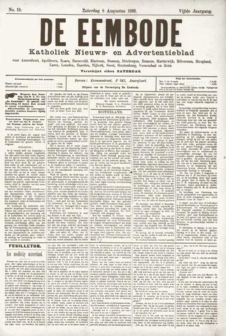 De Eembode 1891-08-08