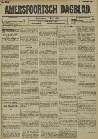 Amersfoortsch Dagblad 1904-06-16