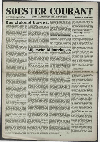 Soester Courant 1946-03-26