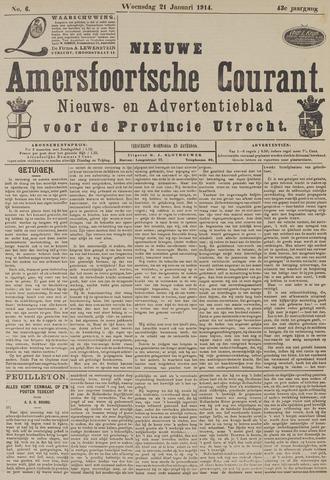 Nieuwe Amersfoortsche Courant 1914-01-21