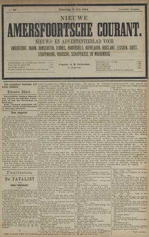 Nieuwe Amersfoortsche Courant 1884-07-19