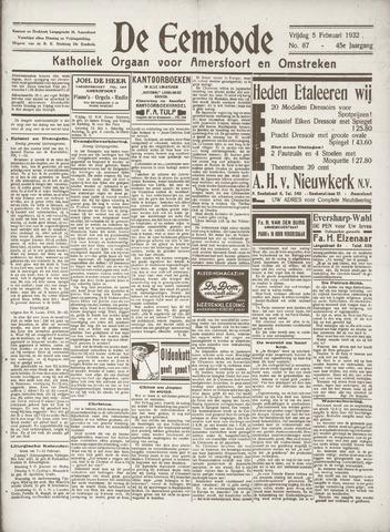 De Eembode 1932-02-05