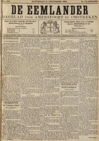 De Eemlander 1908-11-21