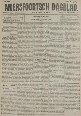 Amersfoortsch Dagblad / De Eemlander 1916-05-09