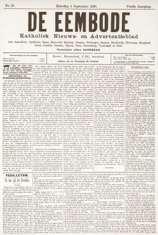 De Eembode 1890-09-06