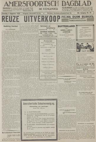 Amersfoortsch Dagblad / De Eemlander 1930-08-09