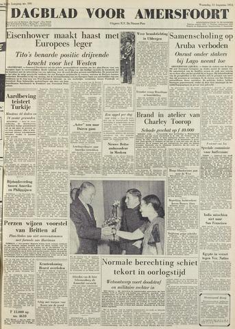 Dagblad voor Amersfoort 1951-08-15