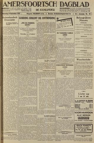 Amersfoortsch Dagblad / De Eemlander 1932-09-14