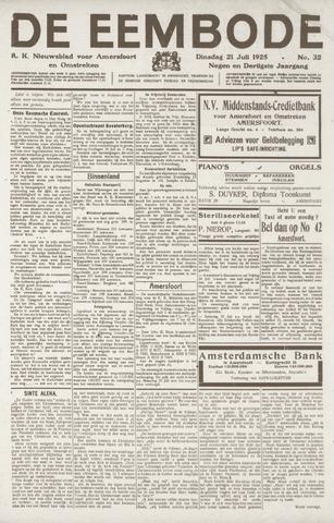 De Eembode 1925-07-21
