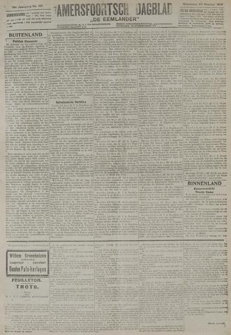 Amersfoortsch Dagblad / De Eemlander 1919-10-22