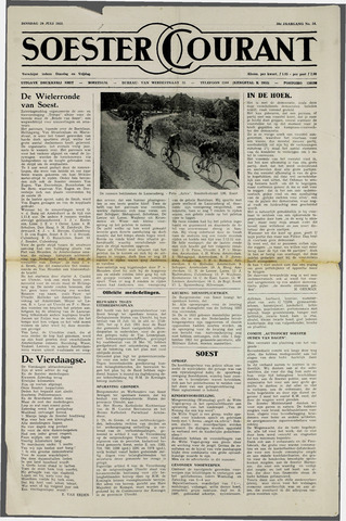 Soester Courant 1952-07-29