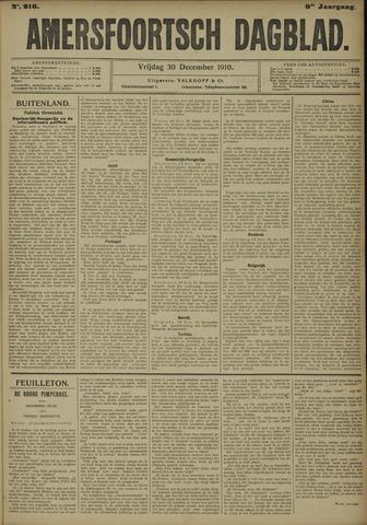Amersfoortsch Dagblad 1910-12-30