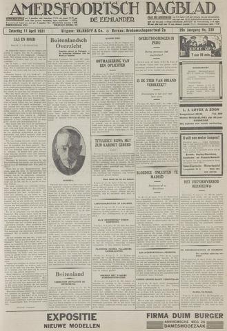 Amersfoortsch Dagblad / De Eemlander 1931-04-11