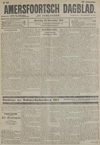Amersfoortsch Dagblad / De Eemlander 1916-11-20