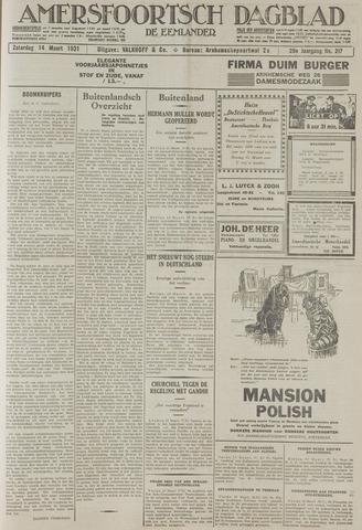 Amersfoortsch Dagblad / De Eemlander 1931-03-14