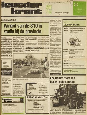 Leusder Krant 1978-11-23