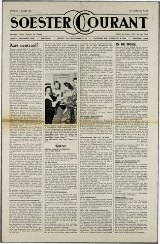 Soester Courant 1952-03-11