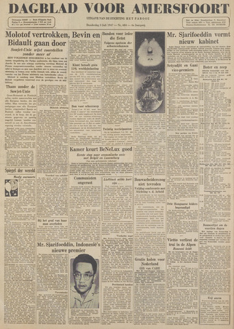 Dagblad voor Amersfoort 1947-07-03