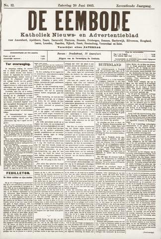 De Eembode 1903-06-20