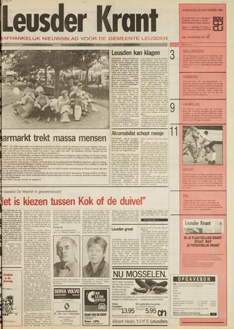Leusder Krant 1991-09-25